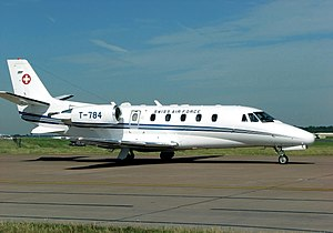 Cessna Citation family - Cessna 560XL Citation Excel of the Swiss Air Force