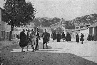 Albanians in Montenegro - Albanians in Cetinje (1906)
