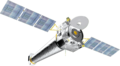 Chandra X-ray Observatory spacecraft model.png