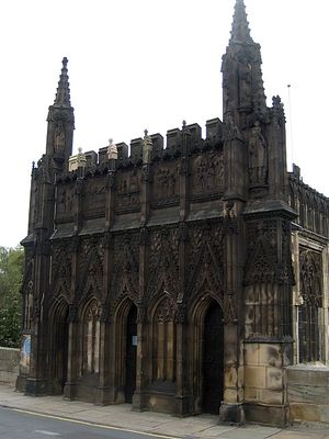 Chantry Chapel of St Mary the Virgin, Wakefield - Chantry Chapel facade