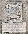Chapelle Sainte-Anne de Contrevoz, inscription, blason.jpg