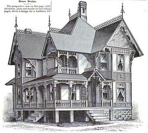 George Franklin Barber - The Charles E. Bradt House, one of Barber's first designs