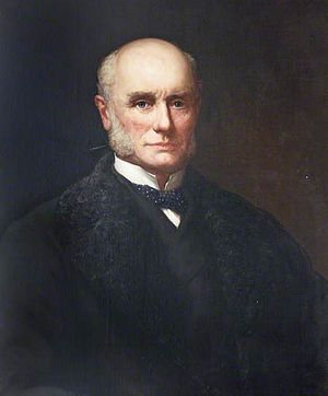 Charles Hepburn-Stuart-Forbes-Trefusis, 20th Baron Clinton - Portrait by unknown artist, collection of Devon County Council, Larkbeare House, Exeter