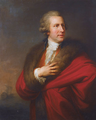 Charles Whitworth, 1st Earl Whitworth - Charles Whitworth (1752-1825), by Johann Baptist von Lampi the Elder