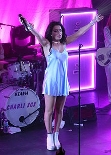 Charli XCX performing in Detroit in October 2014