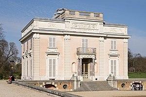 Château de Bagatelle - Front entrance
