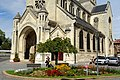 Chauny (02), église Saint-Martin, vue partielle depuis le sud-ouest.jpg