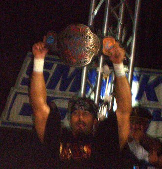 Chavo Guerrero Jr. - Guerrero as ECW Champion in 2008