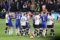Chelsea v Spurs 2 May 2016 - players scuffling.jpg