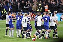 Chelsea F C Tottenham Hotspur F C Rivalry Wikipedia
