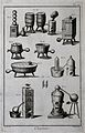 Chemistry; various vessels and furnaces, with men in bathing Wellcome V0025479EL.jpg
