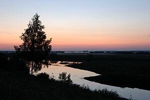 Krasnoborsky District - Lake Kotishche in the Northern Dvina floodplain, Cherevkovo