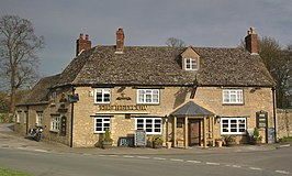 Een pub in Chesterton