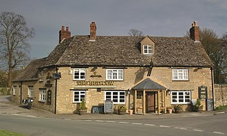 Chesterton, Oxfordshire - The Red Cow public house