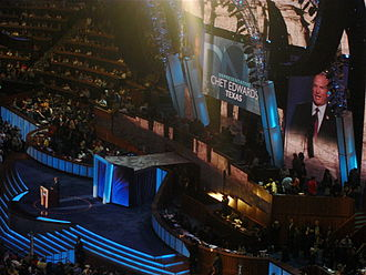 Chet Edwards - Edwards speaks during the third night of the 2008 Democratic National Convention in Denver, Colorado.