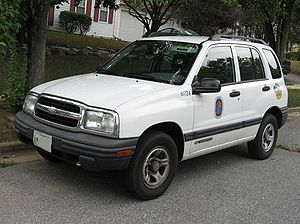 Chevrolet Tracker (Americas) - Image: Chevrolet Tracker 4door