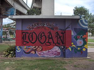 Chicano Park - Image: Chicano Park Restrooms