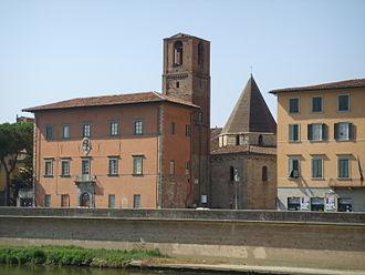 Dagobert of Pisa - Holy Sepulchre Church, Pisa