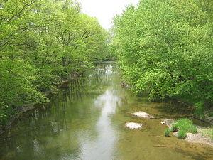 Chillisquaque Creek - Chillisquaque Creek from Interstate 80