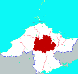 Location in Yantai
