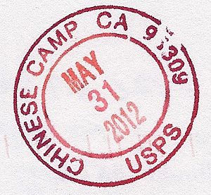 Chinese Camp, California - Postmark from Chinese Camp, CA.