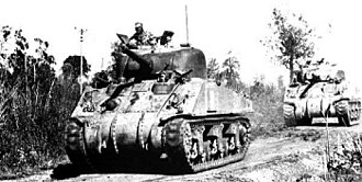 China Burma India Theater - Chinese M4A4 Sherman in the CBI Battlefield