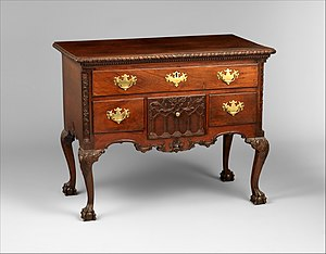 Table 1760 1790 Mahogany 77 5 X 95 9 53 3 Cm Metropolitan Museum Of Art New York City
