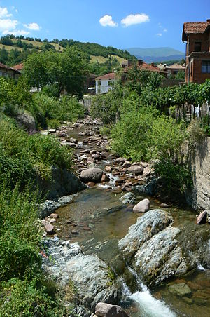 Chiprovtsi - The Ogosta flowing through Chiprovtsi in its upper course