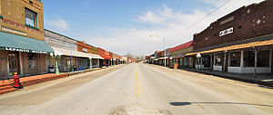 Lepanto, Arkansas - Main Street Lepanto