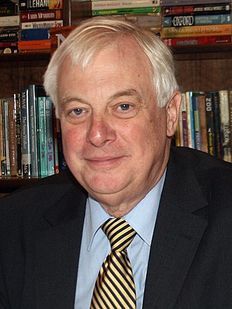 Chris Patten - Image: Chris Patten 2008 10 31 (cropped)