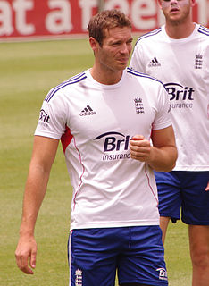 Chris Tremlett Cricket player of England.
