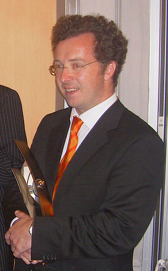 Christian Gerhaher - The baritone in 2004, receiving the Echo award