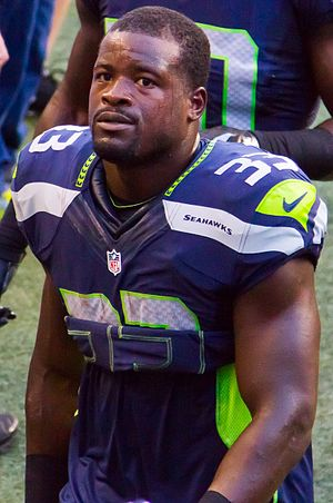 Christine Michael - Michael with the Seattle Seahawks in 2015