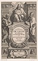 Christus met Jesus Sirach junior en senior Titelpagina voor Salvator de Leon, In Ecclesiasticum Iesu Filii Sirach, Antwerpen, 1640, RP-P-OB-6928.jpg