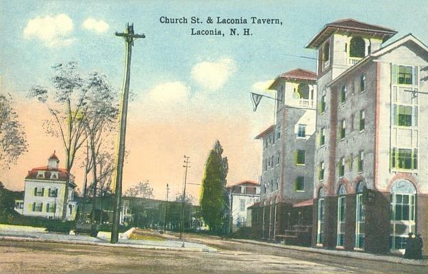 Church Street & Laconia Tavern