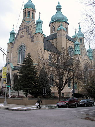 Ukrainian Village, Chicago - Saint Nicholas Ukrainian Catholic Cathedral
