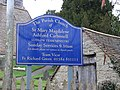 Church notice - geograph.org.uk - 671486.jpg