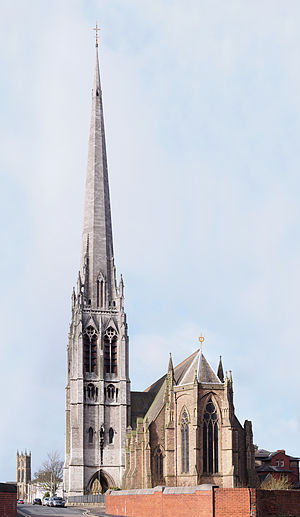 Church of St Walburge, Preston - Image: Church of St Walburge