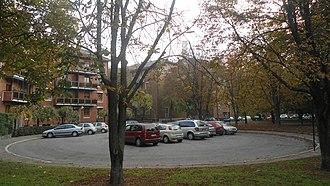 Quartiere Campo dei Fiori - Image: Circle at Via delle Querce