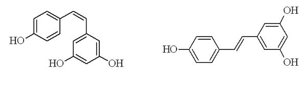 Izomerní podoby resveratrolu