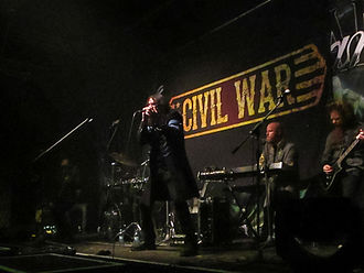 Civil War (band) - Image: Civil War Geiselwind 2015