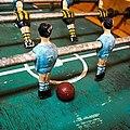Clásico boliviano representado en los famosos futbolines de Alasitas.jpg