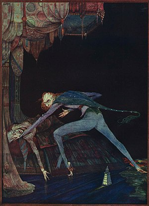 The Tell-Tale Heart - Illustration by Harry Clarke, 1919