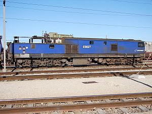South African Class 9E, Series 2 - Image: Class 9E Series 2 E9027