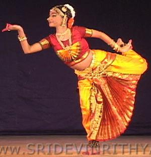 Worship dance - Classical Indian dance