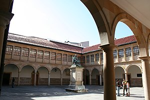 University of Oviedo - Original university building