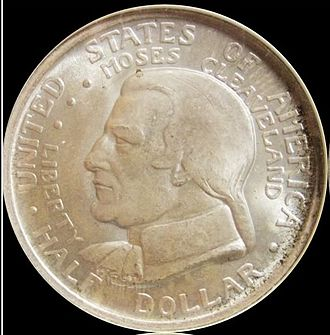 Brenda Putnam - Image: Cleveland Centennial half dollar obverse