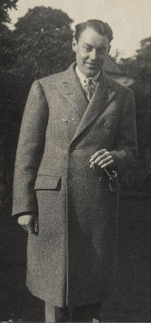C. H. B. Kitchin - A June 1924 photo of C. H. B. Kitchin by Lady Ottoline Morrell