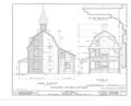 Clinton Academy, Main Street, East Hampton, Suffolk County, NY HABS NY,52-HAMTE,1- (sheet 4 of 6).png