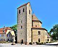Clocher de l'abbatiale Saint Pierre et Saint Paul.jpg